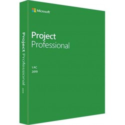 Project Professional 2019...