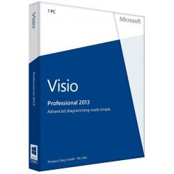 Visio Pro 2013 1PC Digital...
